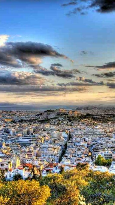 The city of Athens // by `StamatisGR on deviantART