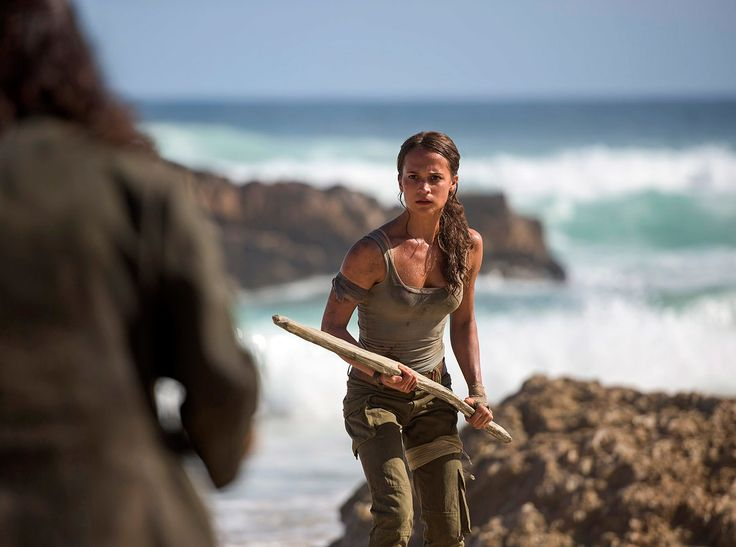 Alicia Vikander as Lara Croft in Warner Bros. Pictures and Metro-Goldwyn-Mayer Pictures' action adventure <em>Tomb Raider,</em> opening March 16, 2018. Photo by Graham Bortholomew.