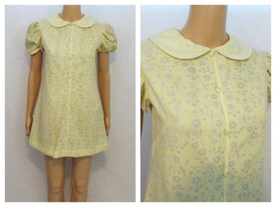 Hot Pink Willi of California Vintage Dress Size 10  Vintage Summer Dress  1970/'s Dress in Fushsia