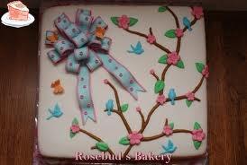 vierkante taart vogel - Google zoeken