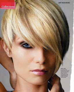Asymmetrical Haircut Idea