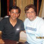 Nakul with Govinda