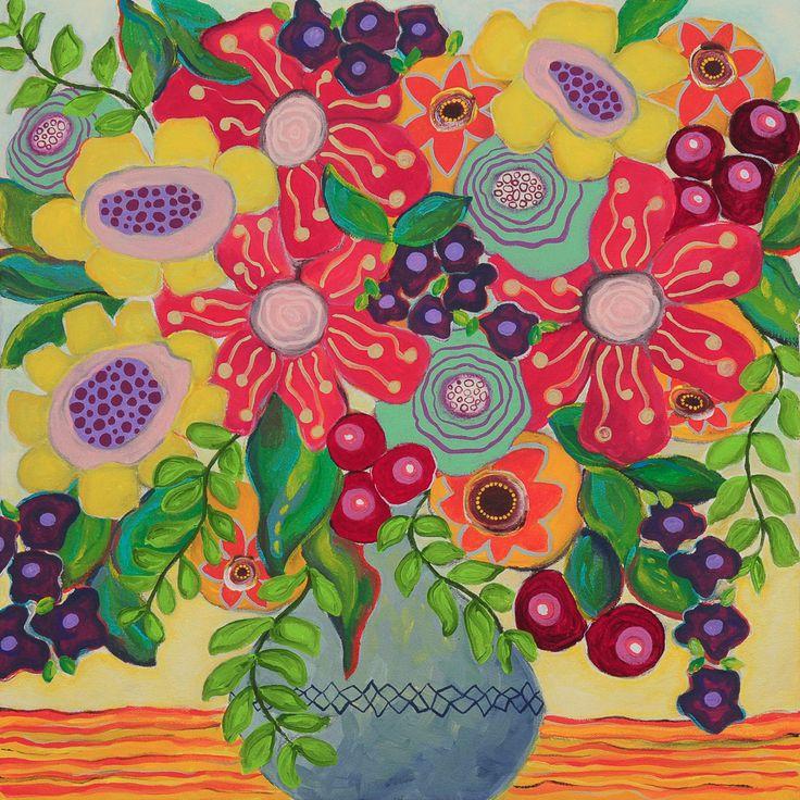 50 x 50cm. Acrylic on canvas - Liesel Malan