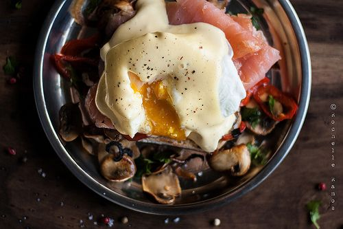 Tomorrow morning, why not turn the amazing Eggs Benedict into an equally amazing Eggs Royale. Get this amazing breakfast egg recipe here.