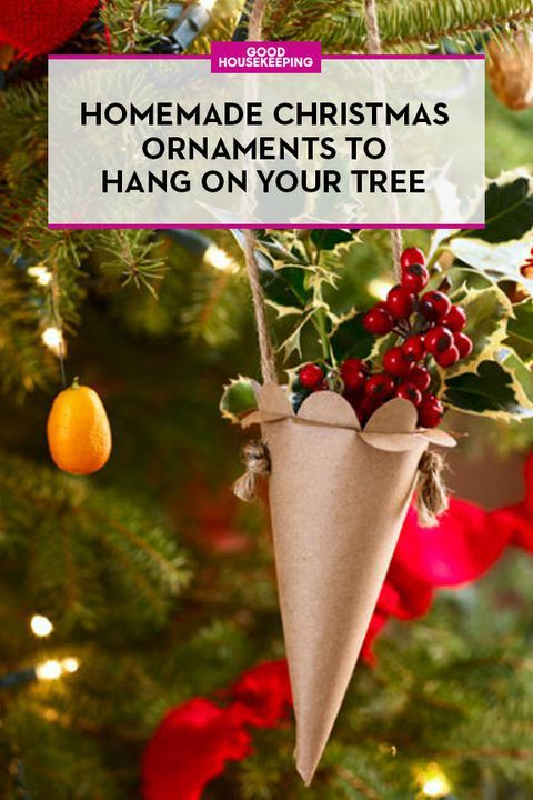 55 Homemade Christmas Ornaments for Your Tree **CHRISTMAS