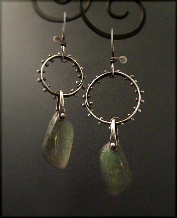 sterling silver and labradorite | victoria takahashi