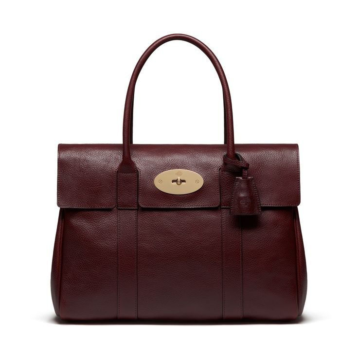 Classic & timeless Mulberry - Bayswater in Oxblood Natural Leather