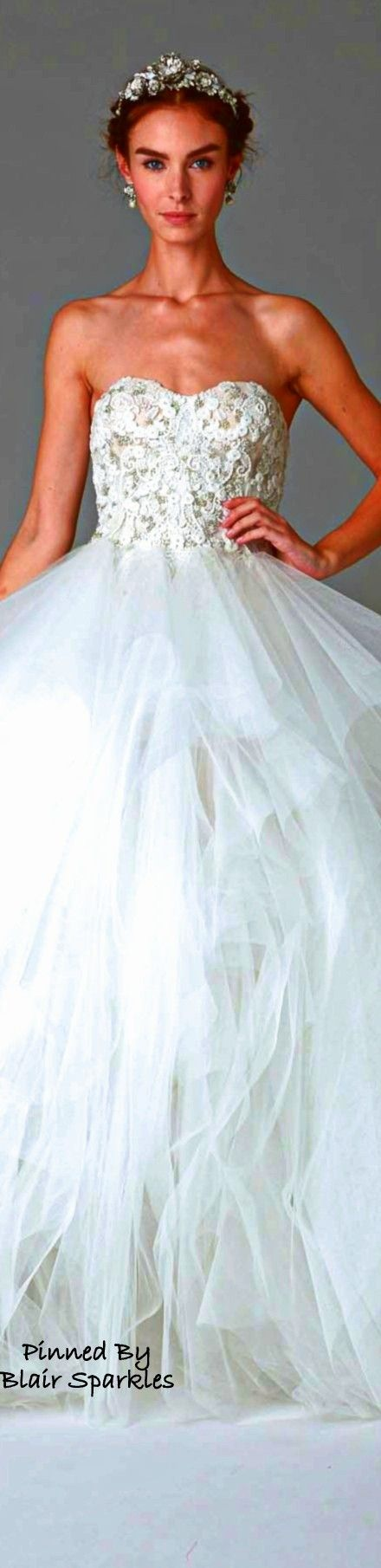 Fall Bridal Collection 2016 Marchesa ~ ♕♚εїз | BLAIR SPARKLES |