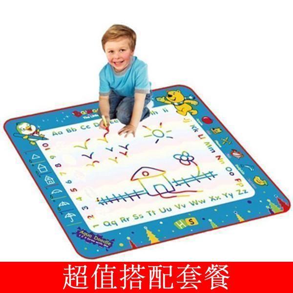 Американский Aquadoodle магия граффити холст холст ребенок водные игрушки для детей двухъярусные большие цветовые модели - Taobao
