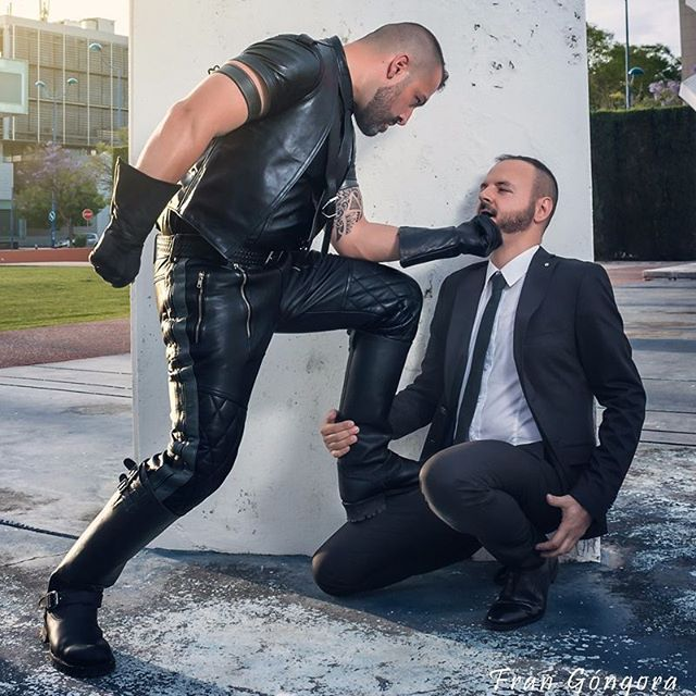 Gay leather domination
