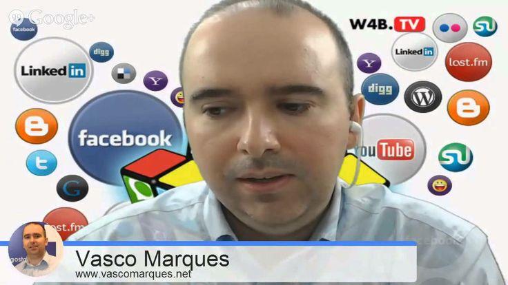 Comunicar nas Redes Sociais Mais info  http://vascomarques.com/?s=hangout