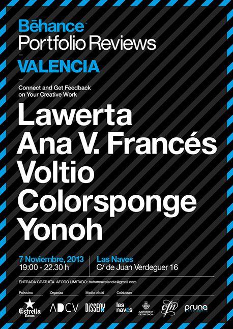 Portfolio Review Valencia, November 7th 2013 #BehanceReviews