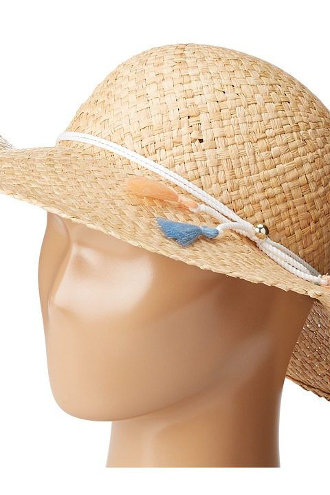 Chloe Kids Sun Hat with Multico Tassels (Toddler/Little Kids/Big Kids) (Multicolor) Caps - Chloe Kids, Sun Hat with Multico Tassels (Toddler/Little Kids/Big Kids), C11138-Z41, Hats Caps General, Caps, Caps, Hats, Gift, - Street Fashion And Style Ideas