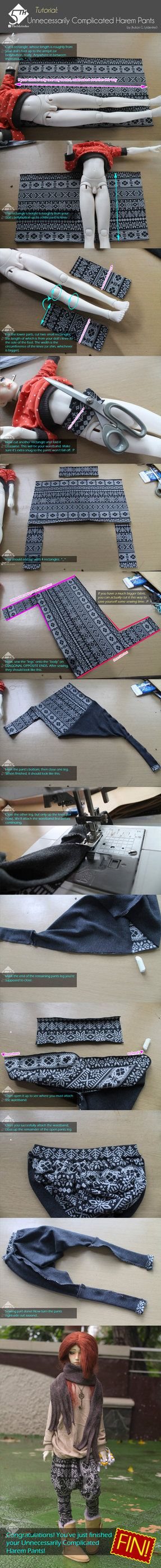 5th Atelier Tutorial: Harem Pants by Ylden