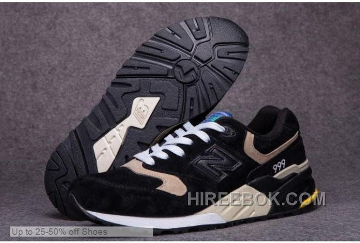 http://www.hireebok.com/new-balance-men-999-black-beige-casual-shoes-online.html NEW BALANCE MEN 999 BLACK BEIGE CASUAL SHOES ONLINE Only $71.00 , Free Shipping!