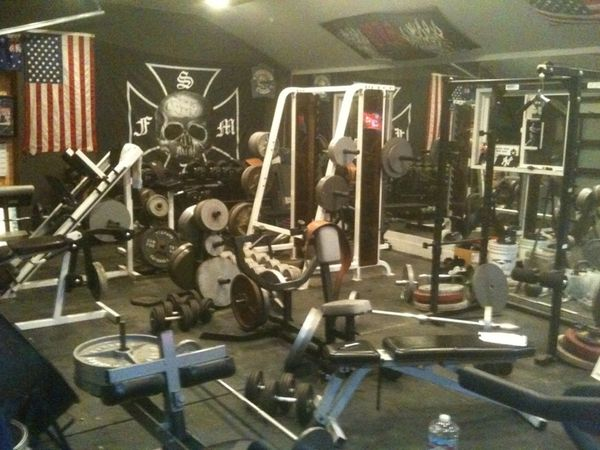 Zakk Wylde S Recording Studio The Gym Gym Zakk Wylde