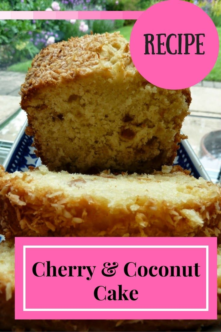 Recipe Cherry And Coconut Cake