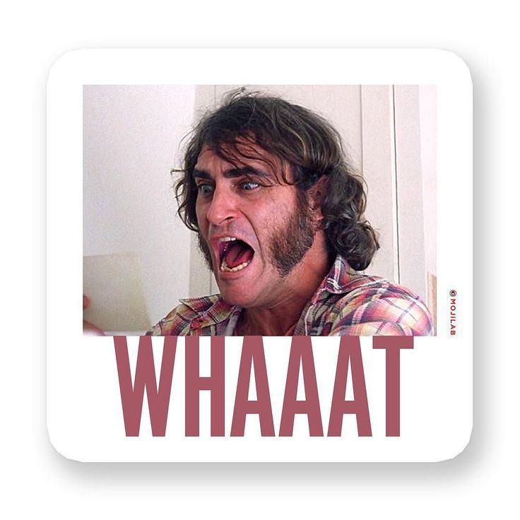 When yr friend marries a mail-order bride. Now in #What Pack. Download #app in profile. Send to friends on #chat. #whaat #whaaat #joaquin #inherentvice #joaquinphoenix #movie #film #shock #whitepeople #sideburns #70s #thursday #lol #lolz #comedy #funny #emoji #meme #memes #keyboard #digitalsticker #message #imessage #whatsapp #mojilab