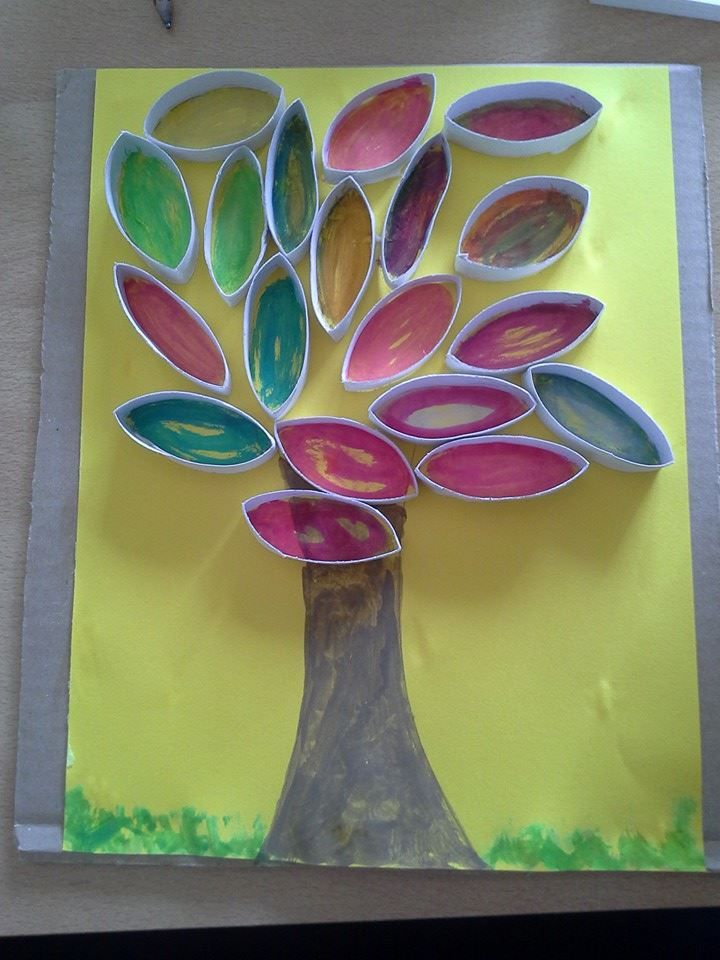 Paper Roll Art #mammapapagiochiamo