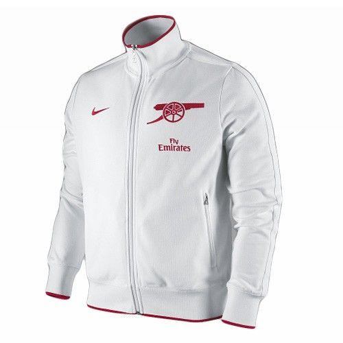 Nike Arsenal N98 Track Jacket - White $76.49