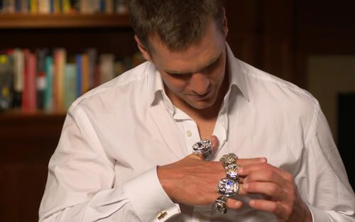 See Patriots like Tom Brady and James White sit down and talk to us about what the ring means to them, moments after they received the combination to unlock it.
