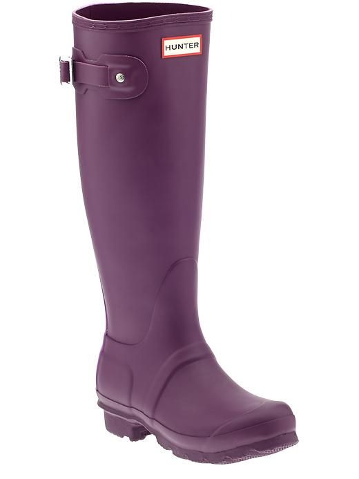 Love the Hunters in eggplant #Hunters #Anthropologie