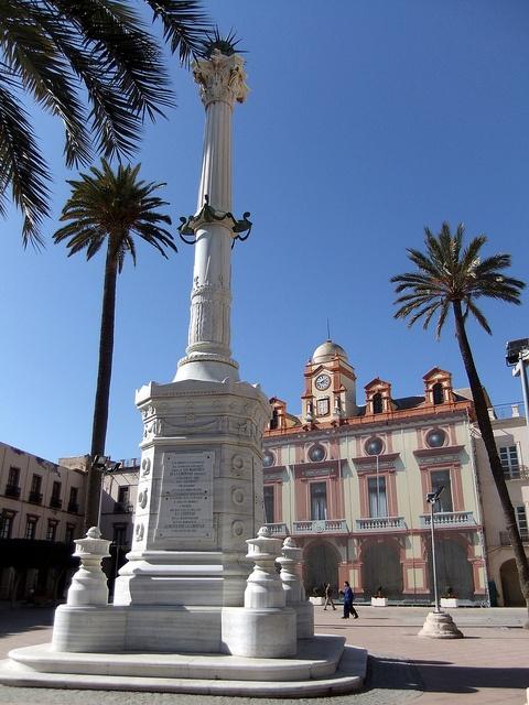 Almería Plaza de Constitución, via Flickr.  photo by Robert Bovington   http://bovington-posts.blogspot.com.es