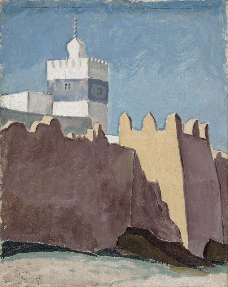John Lyman, Hammamet, 1920. Huile sur toile.
