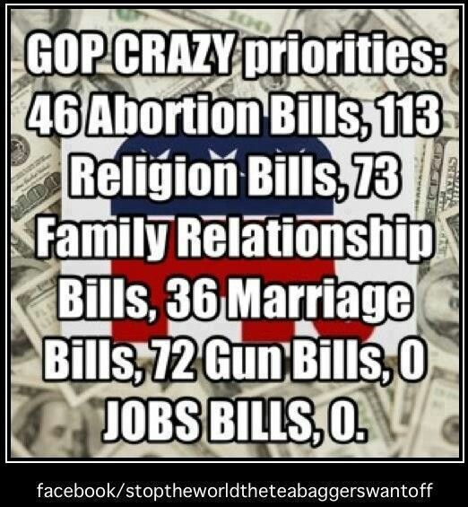 GOP Priorities. Not to mention the protection of  enviromment, fully funding schools, equal pay for women, pharmaceutical  affordability, the lack of safe drinking water in many inner city poor neighborhoods, etc.  If their big-money campaign  backers don't want it, they don't do it!