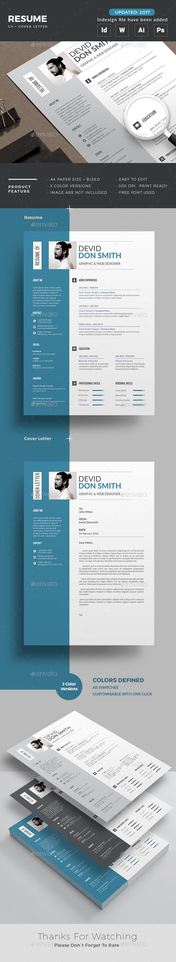 Resume Resumes Stationery Download Here httpsgraphicrivernet