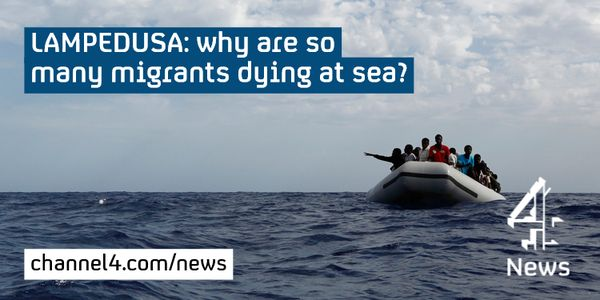 #Lampedusa: why are so many migrants dying at sea off Italy's coast? @jrug http://www.channel4.com/news/lampedusa-why-are-so-many-migrants-dying-in-mediterranean…