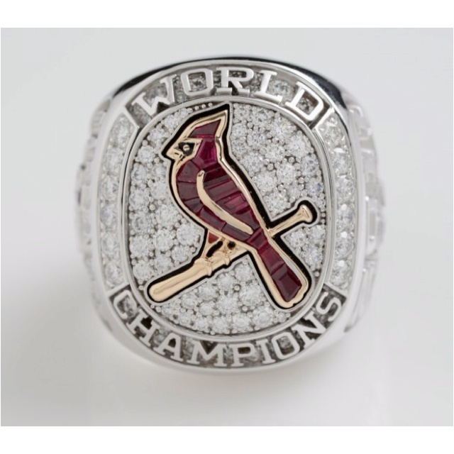 The best ring ever made given to the best team EVER! Way to go Cardinals!!