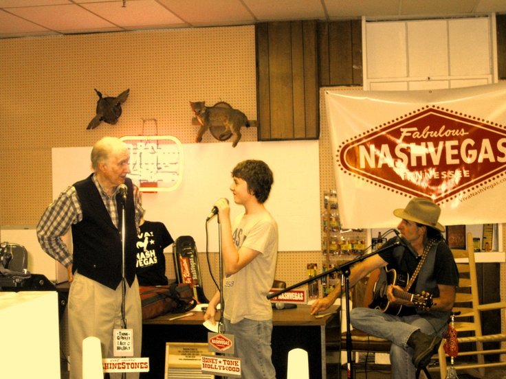 "Grand Ole Opry® Legend, George Hamilton IV, does ""Questions with George Hamilton VI"" @ the VIVA! NASHVEGAS® Radio Show LIVE @ Historic Handy Hardware in Beautiful DownTown Franklin, Tennessee! www.NashVegas.TV"