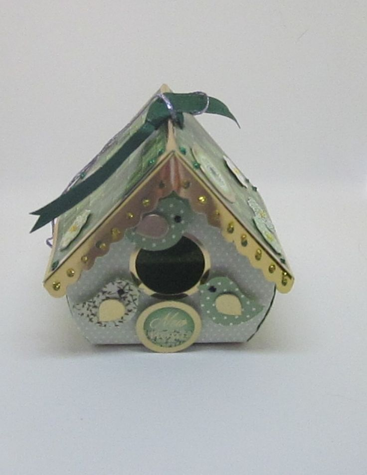 Bird House 1 New Home. Green 7x7x6cms. The little bird house has a front opening, could have pot pourri put in it. Is essentially an extra gift for that special person. Has a hanger on the top. £3.50  Please follow and like us: