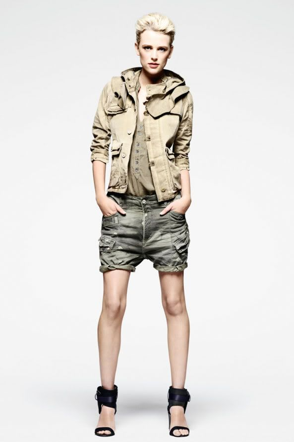 G-STAR RAW Women LookBook Summer 2011