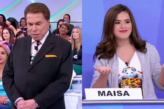 Maisa responde a deboche de Silvio Santos: 'nossa senhora das plásticas passou aí várias vezes'