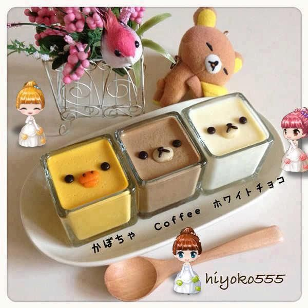 Very cute food decoration in Relakkuma style ♥♥ (Click for more pics)