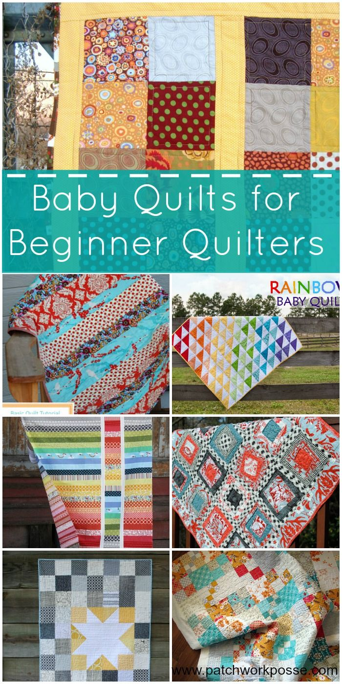 Free baby bed quilt patterns - 20 Baby Quilts For Beginners