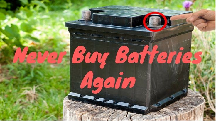 Battery Reconditioning Never Buy Batteries Again