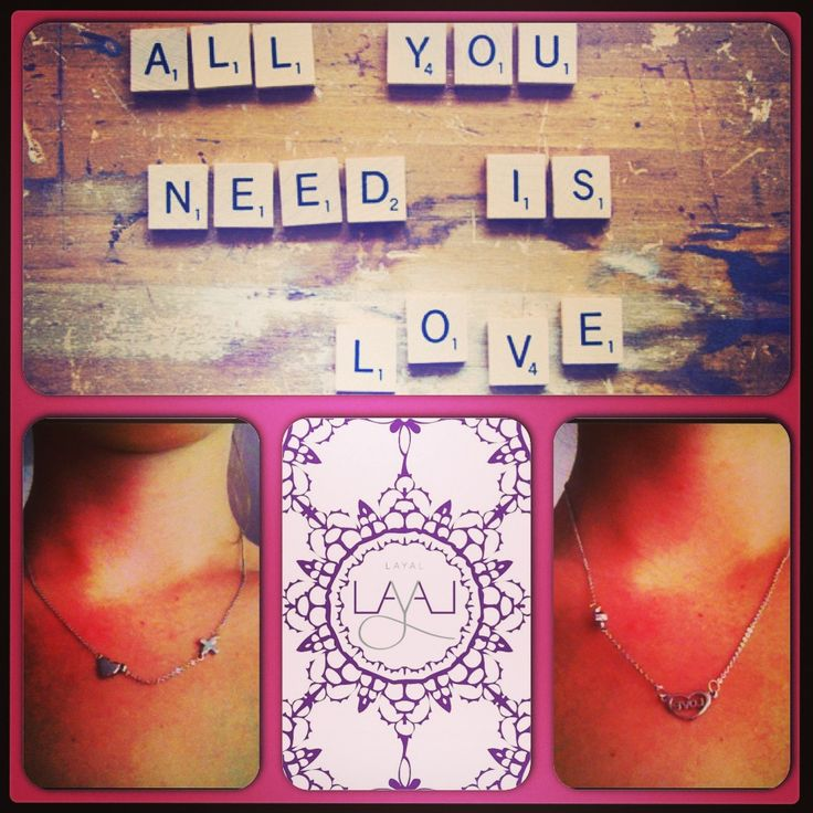 Layal glyfada love necklaces