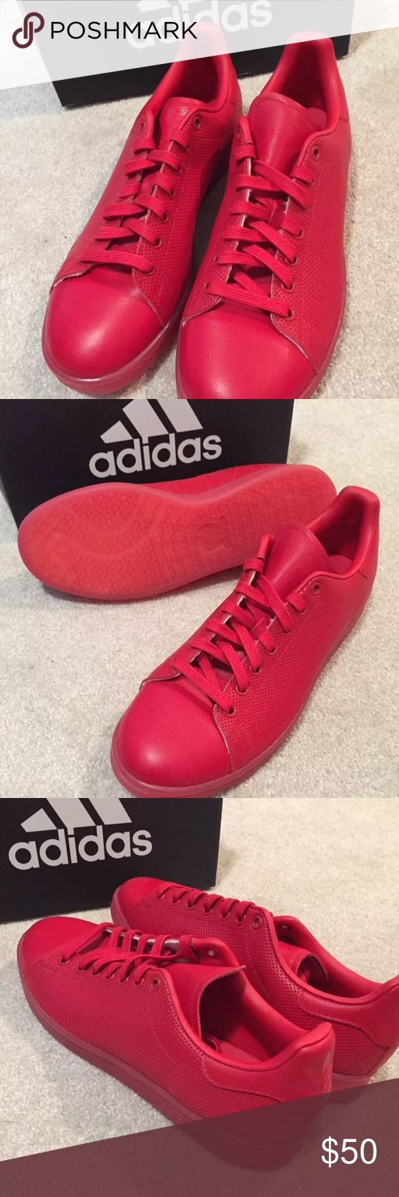 Adidas Stan Smith Adicolor Brand new!!! Adidas Stan Smith Adicolor. SizesBrand new!!! Adidas Stan Smith Adicolor. Size 10  and 11 available. Red /Red color. MSRP$ 85. **Special price today and tomorrow ONLY. Price is firmed!!! adidas Shoes Sneakers