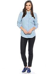 Рубашка Levi's  Рубашка бойфренда свободного покроя с одним нагрудным карманом.. Рубашка Levi's промокоды купоны акции.
