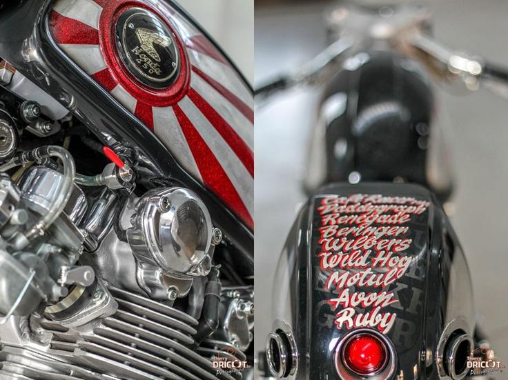 Krugger Tribute to Japan Honda CB450 ~ Return of the Cafe Racers