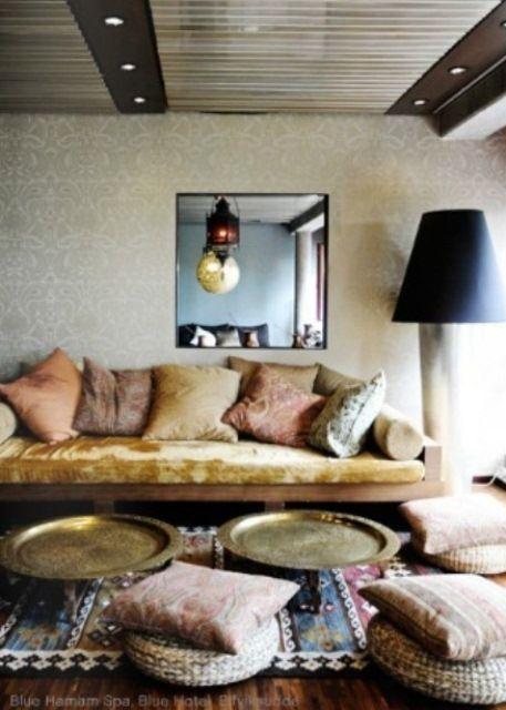 Comedor estilo marroqu decoraci n marroqu pinterest - Decoracion indu ...
