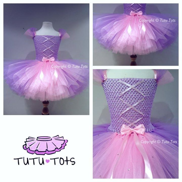 Rapunzel tutu dress from tutu tots