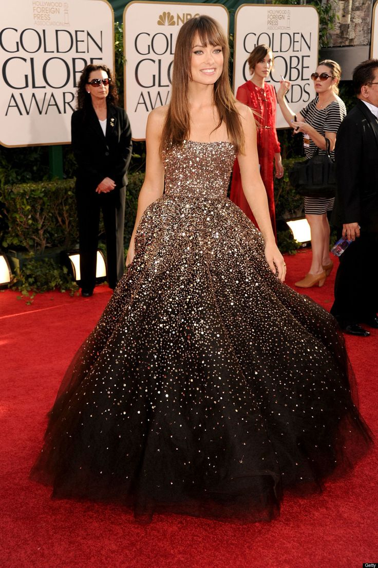 olivia: Ball Gowns, Dreams Wedding Dresses, Celebrity Dresses, Red Carpets, Oliviawild, Sparkly Dresses, Olivia Wild, The Dresses, Formal Gowns