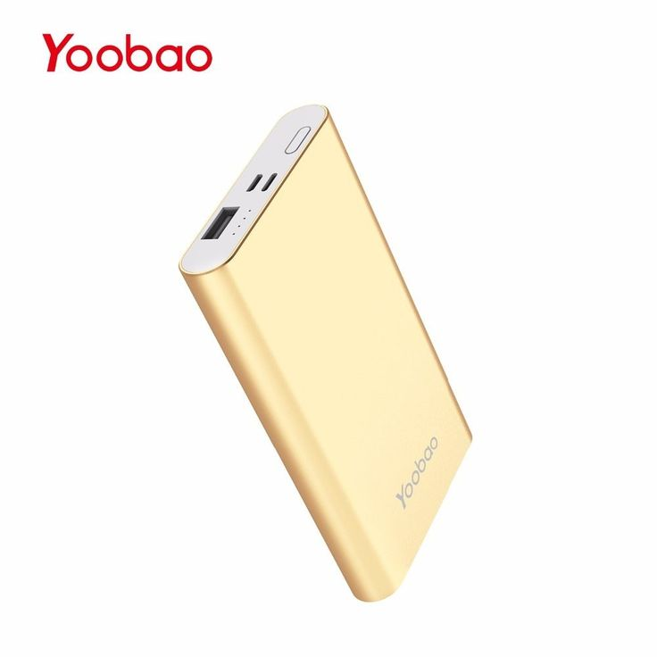 Yoobao Power Bank 10000 mAh Ultra Slim Small Power Bank External Battery PoverBank For XiaomiMi Iphone 7 6 5 Huawei Samsung S8 //Price: $21.13//     #shop