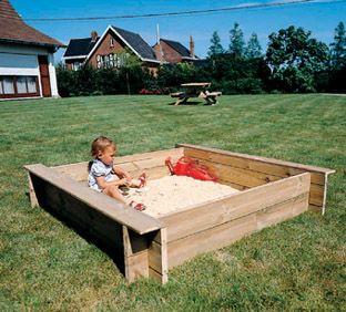 arenero para los nios standar de madera juegos al aire libre creatividad pinterest parque infantil juegos de jardn y toboganes