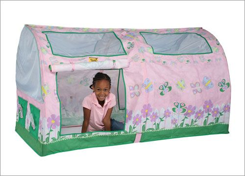Buy Bazoongi Kids Flower Twin Bed Tent Online Confidently