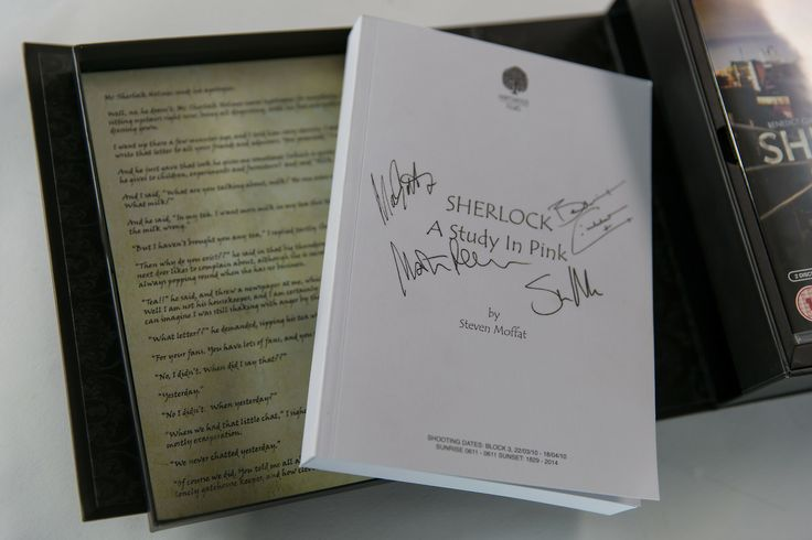Unboxing the Sherlock Series 1-3 Limited Edition Collector's Boxset Thanks to the kind people at BBC Worldwide, we've got our hands on the UK exclusive Limited Edition Collector's Boxset of Sherlock...